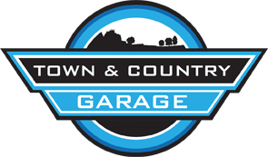 Town and Country Garage Logo